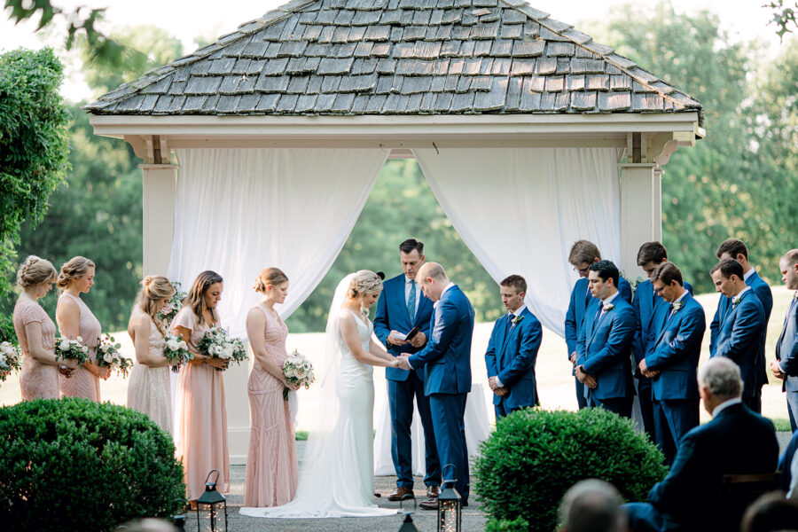 Tennessee Pleasant Hill Mansion Outdoor Wedding | Nashville Bride Guide