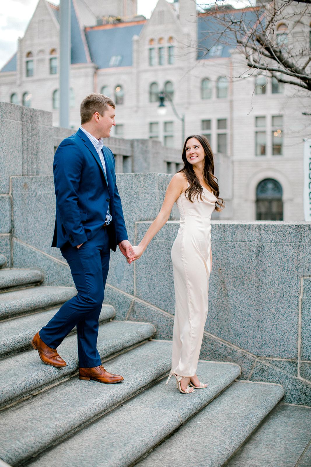 Union Station Engagement Session by Ashton Brooke Photography   Nashville Bride Guide