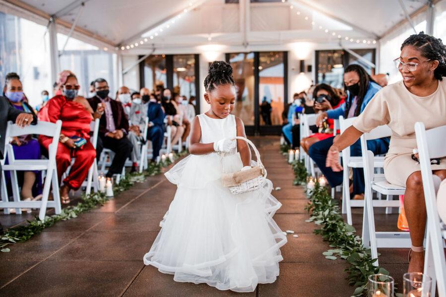 Tiered flower girl dress inspiration | Nashville Bride Guide