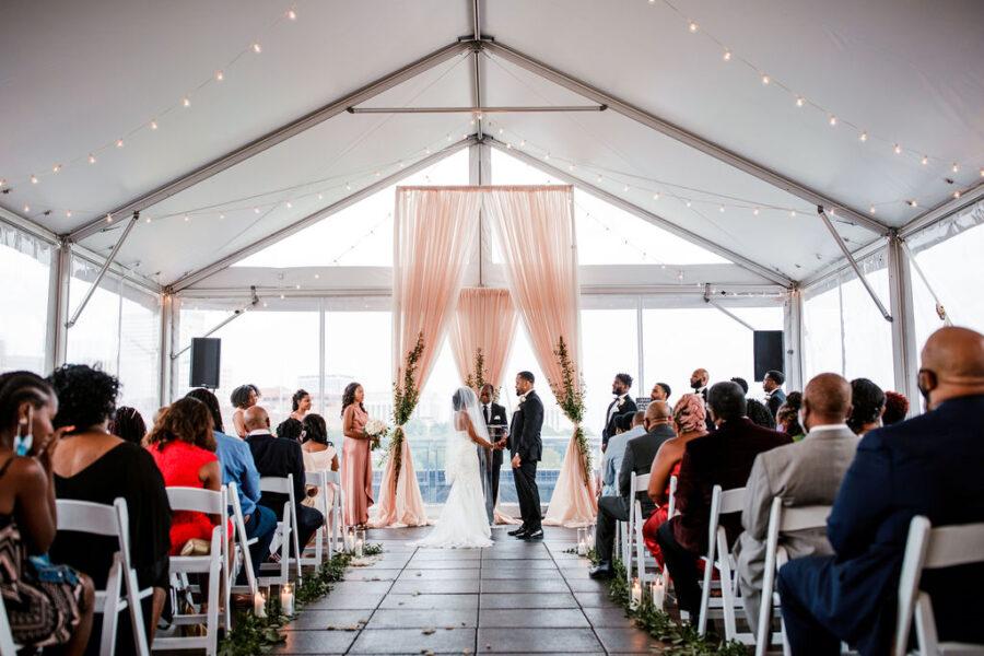 The Bridge Building wedding ceremony | Nashville Bride Guide