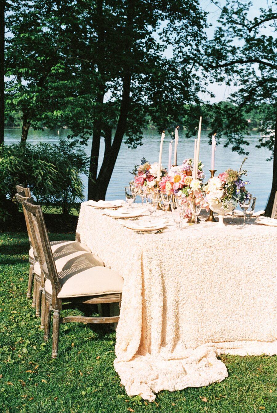 Spring Watercolor Wedding | Monet Inspired Wedding