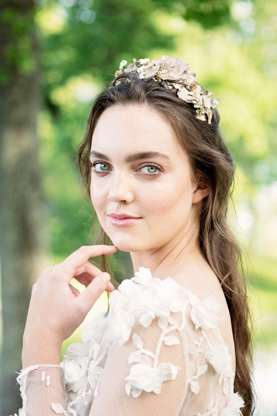 Natural bridal makeup inspiration