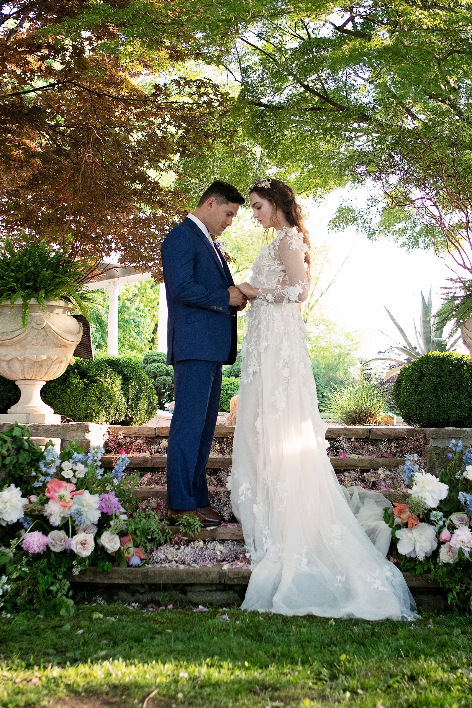 Monet Inspired Spring Garden Wedding