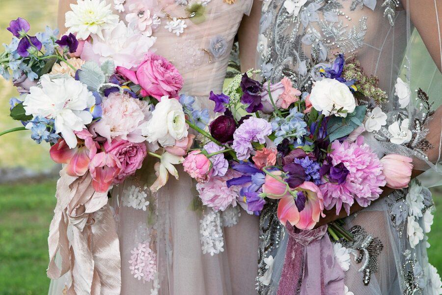 Watercolor spring wedding