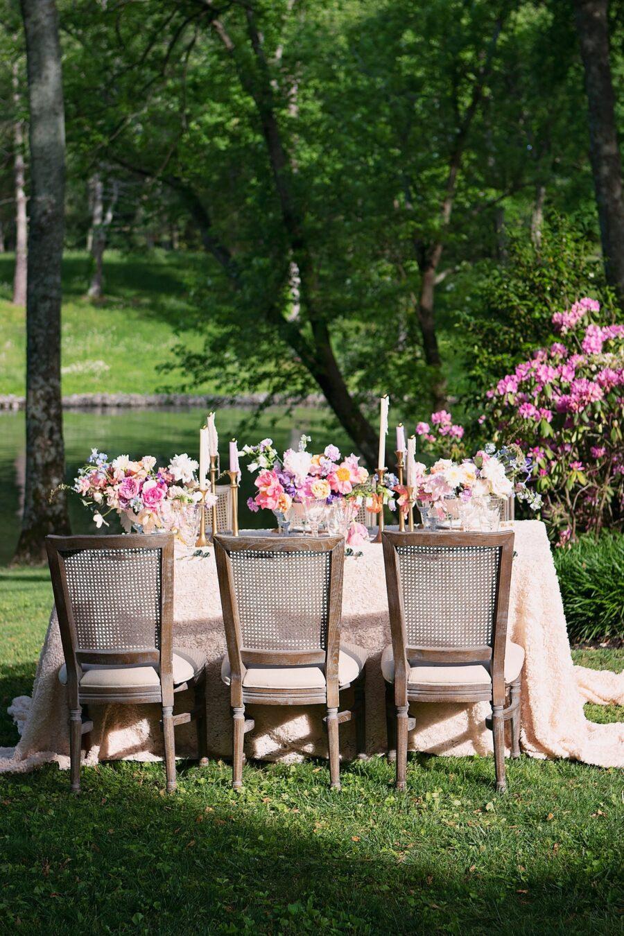 Outdoor spring wedding inspiration