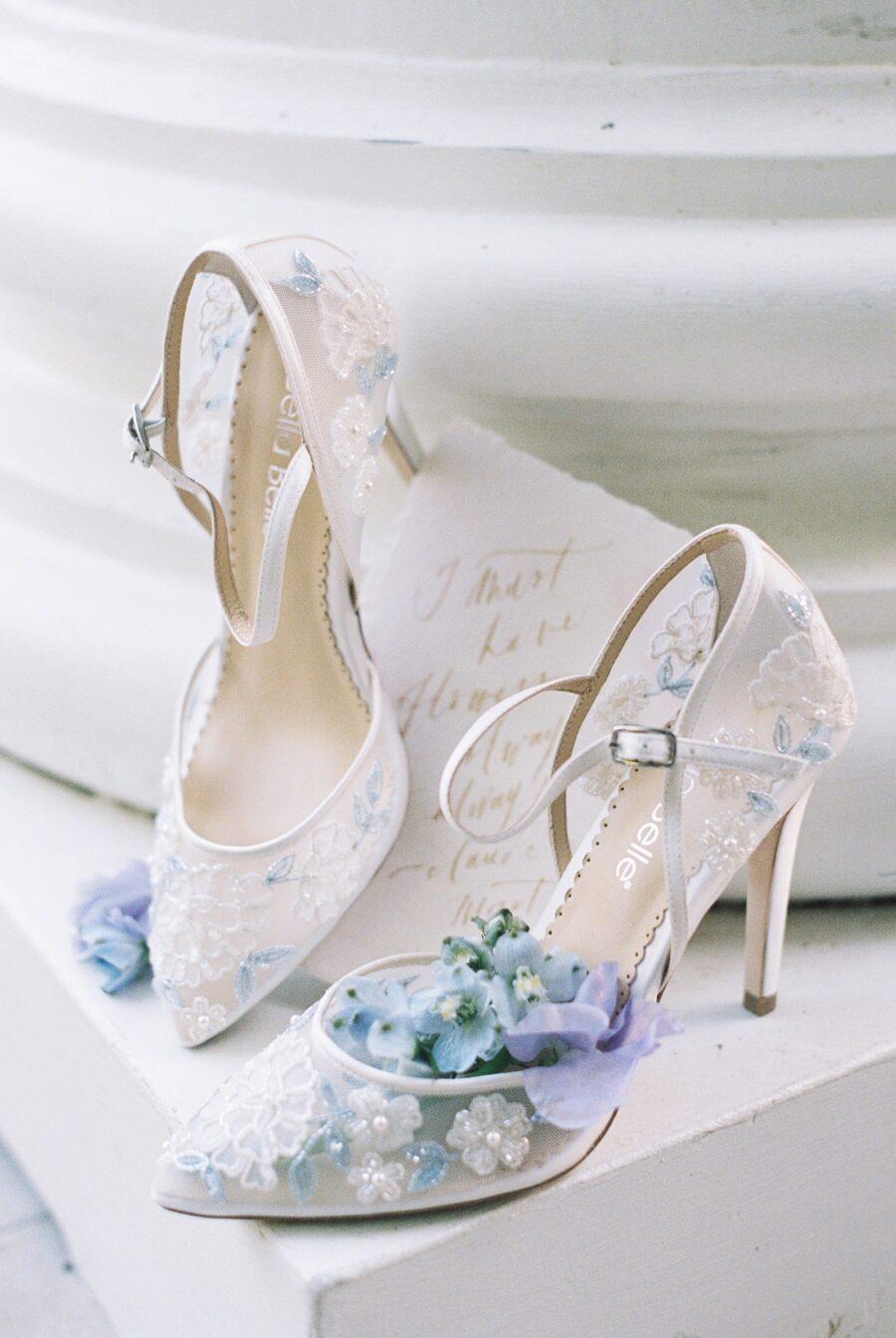Bella Belle Bridal Shoes | Spring Wedding Inspiration
