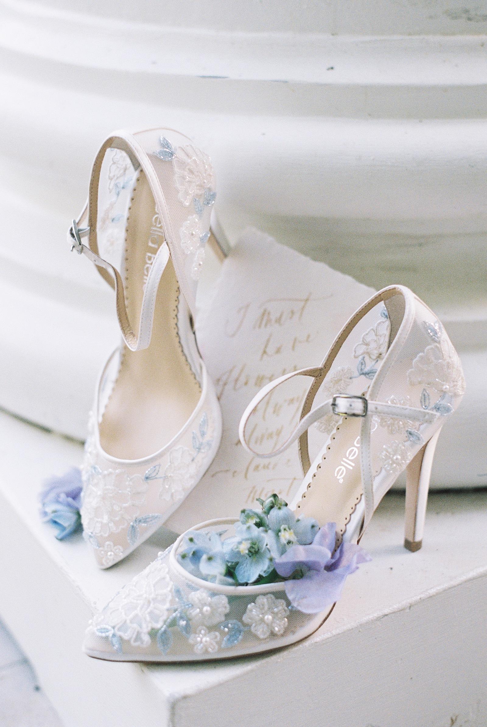 Bella Belle Bridal Shoes   Spring Wedding Inspiration