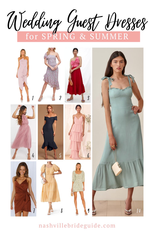 Wedding Guest Dresses for Spring & Summer | Nashville Bride Guide