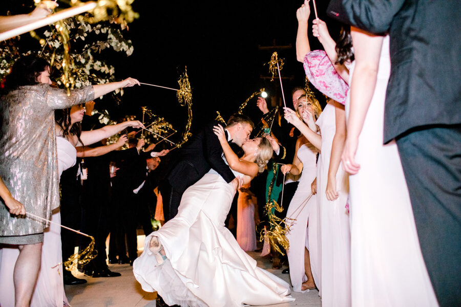 Nashville wedding exit ideas