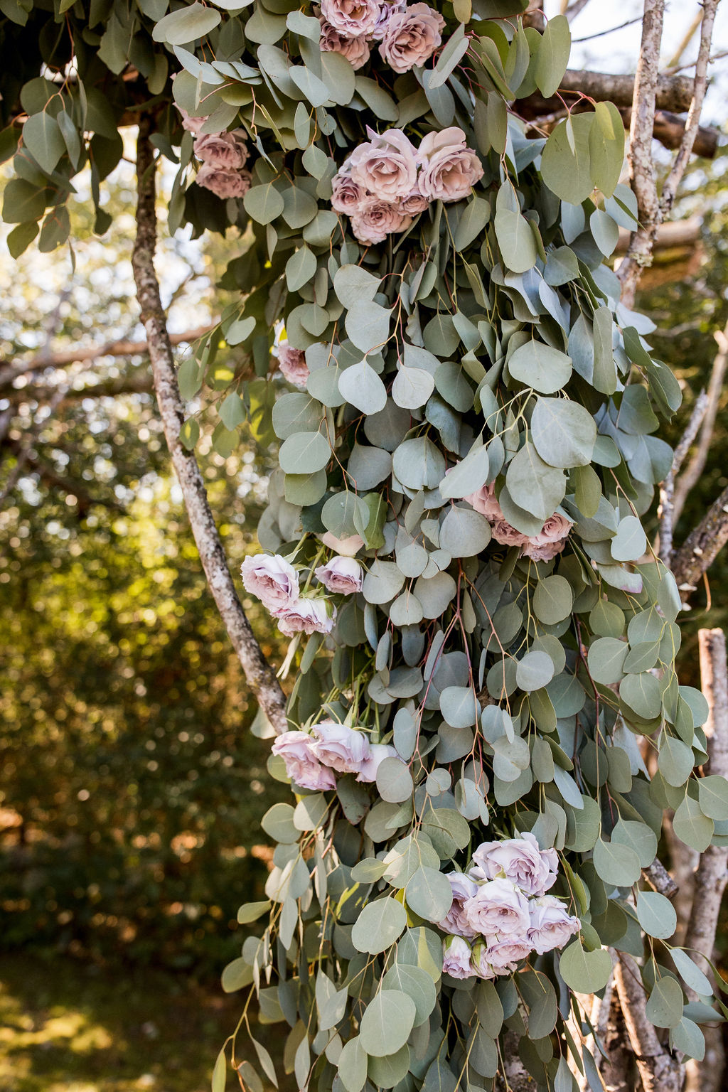 Lavender and Eucalyptus wedding ceremony decor | Nashville Bride Guide