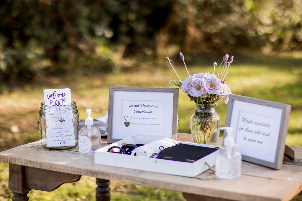 Social distancing wedding decor | Nashville Bride Guide