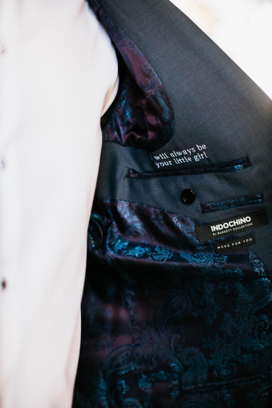 Customized Indochino wedding tuxedo jacket | Nashville Bride Guide
