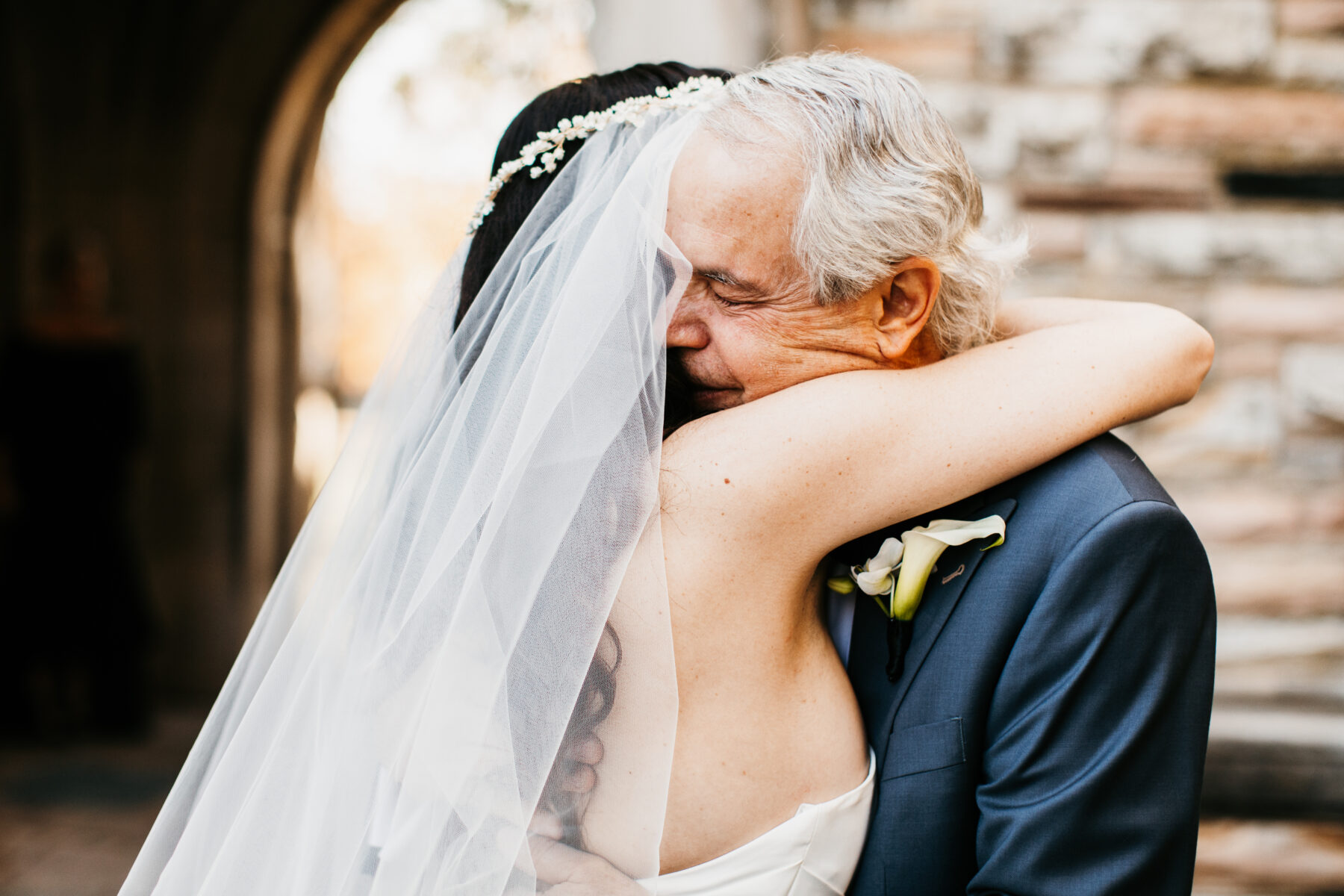 Father of the bride first look | Nashville Bride Guide