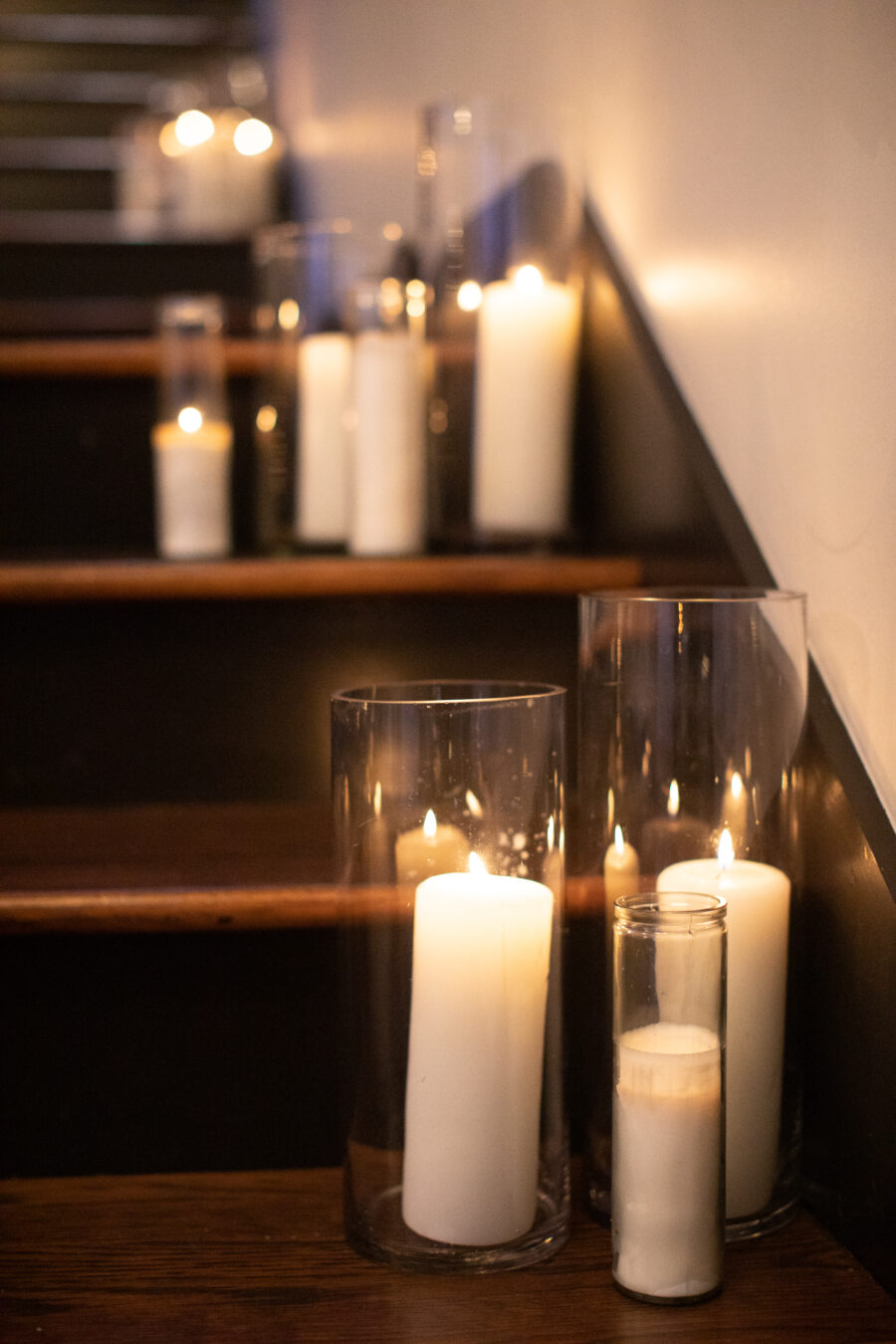 Candle wedding reception decor | Nashville Bride Guide