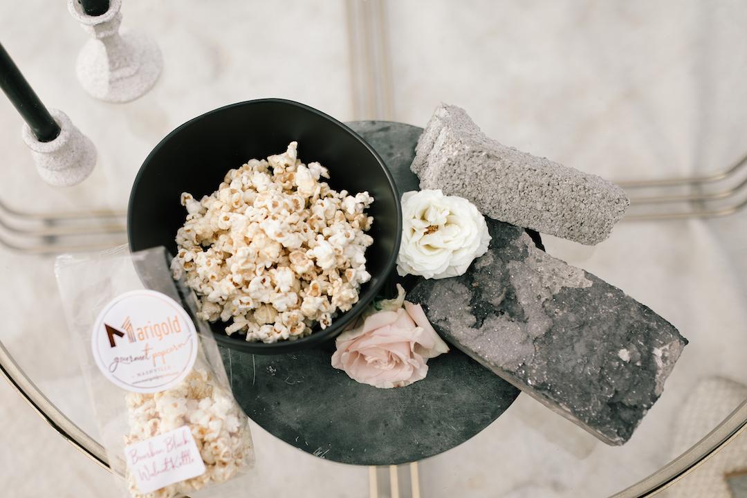 Marigold Popcorn | Nashville Bride Guide