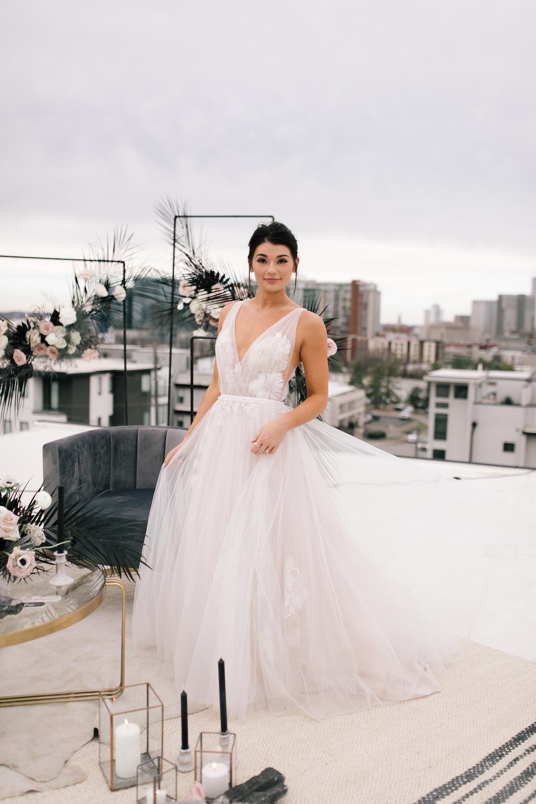 Luxe Bridal Studio wedding dress | Nashville Bride Guide