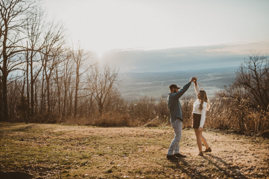 Sewanee Tennessee engagement session by Gambill Photography | Nashville Bride Guide