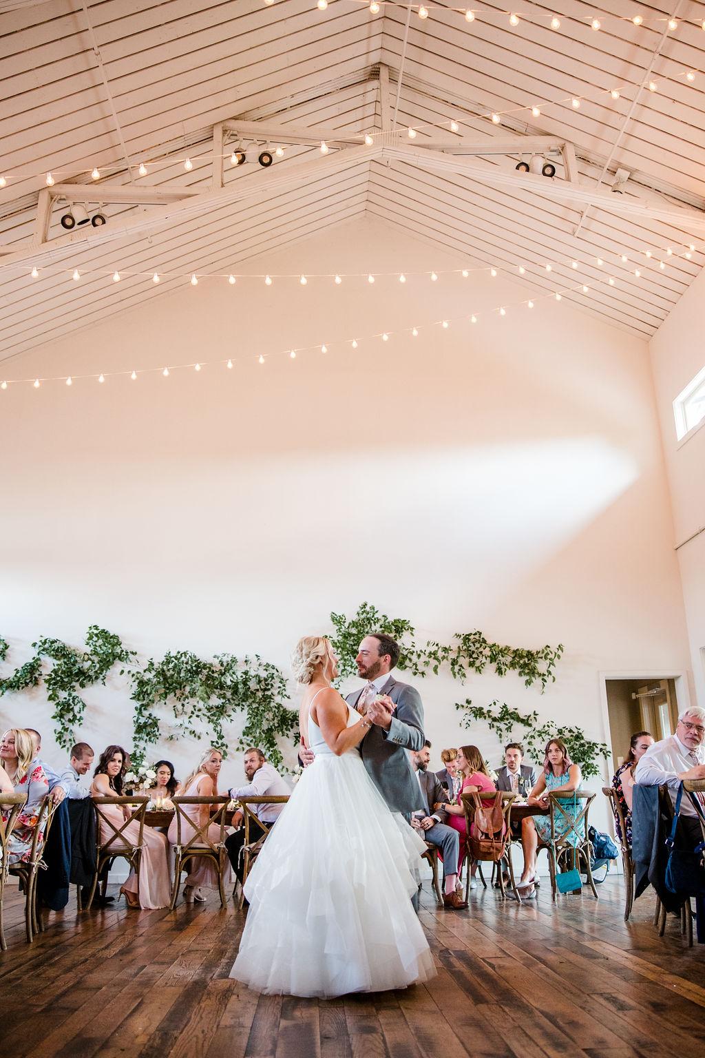 First dance at The Cordelle Nashville wedding | Nashville Bride Guide