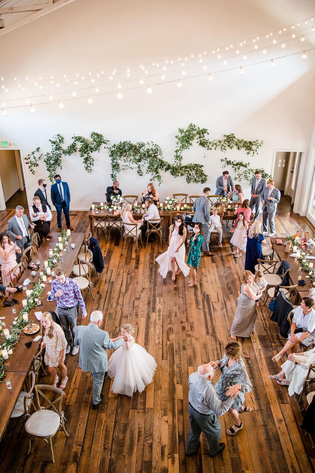Wedding guests dancing at The Cordelle | Nashville Bride Guide