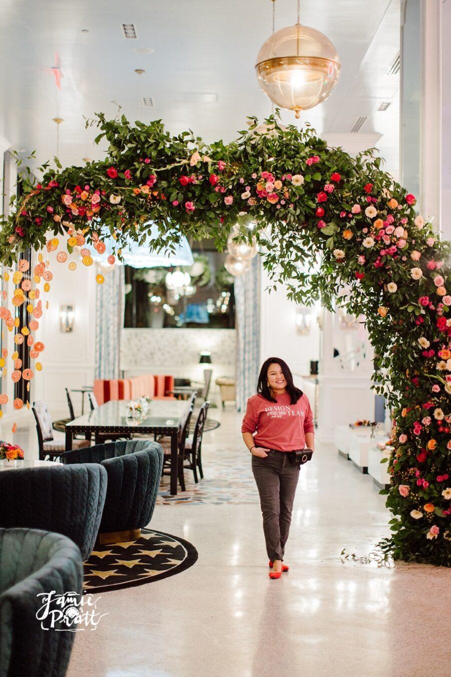 Nashville wedding florist Hiraya Flowers