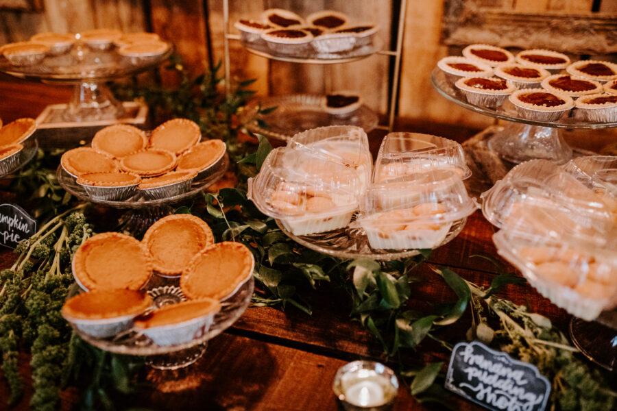 Wedding dessert assortment