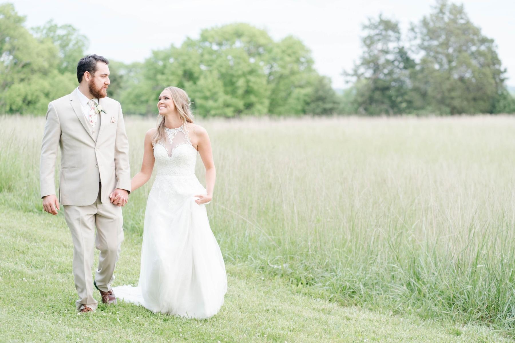 Rustic Briar Rose Hill wedding