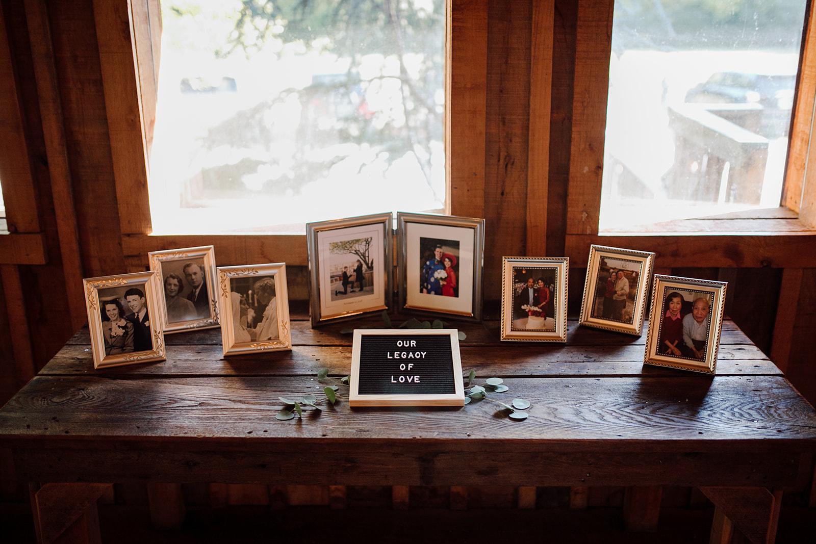 Green Door Gourmet wedding reception decor