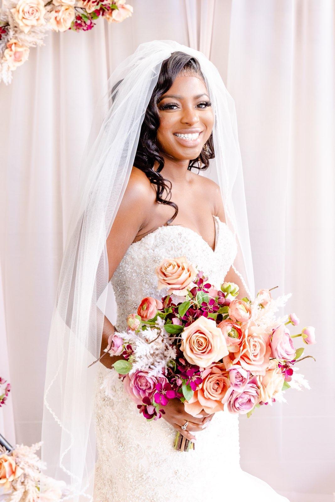 Something Borrowed Blooms wedding flowers