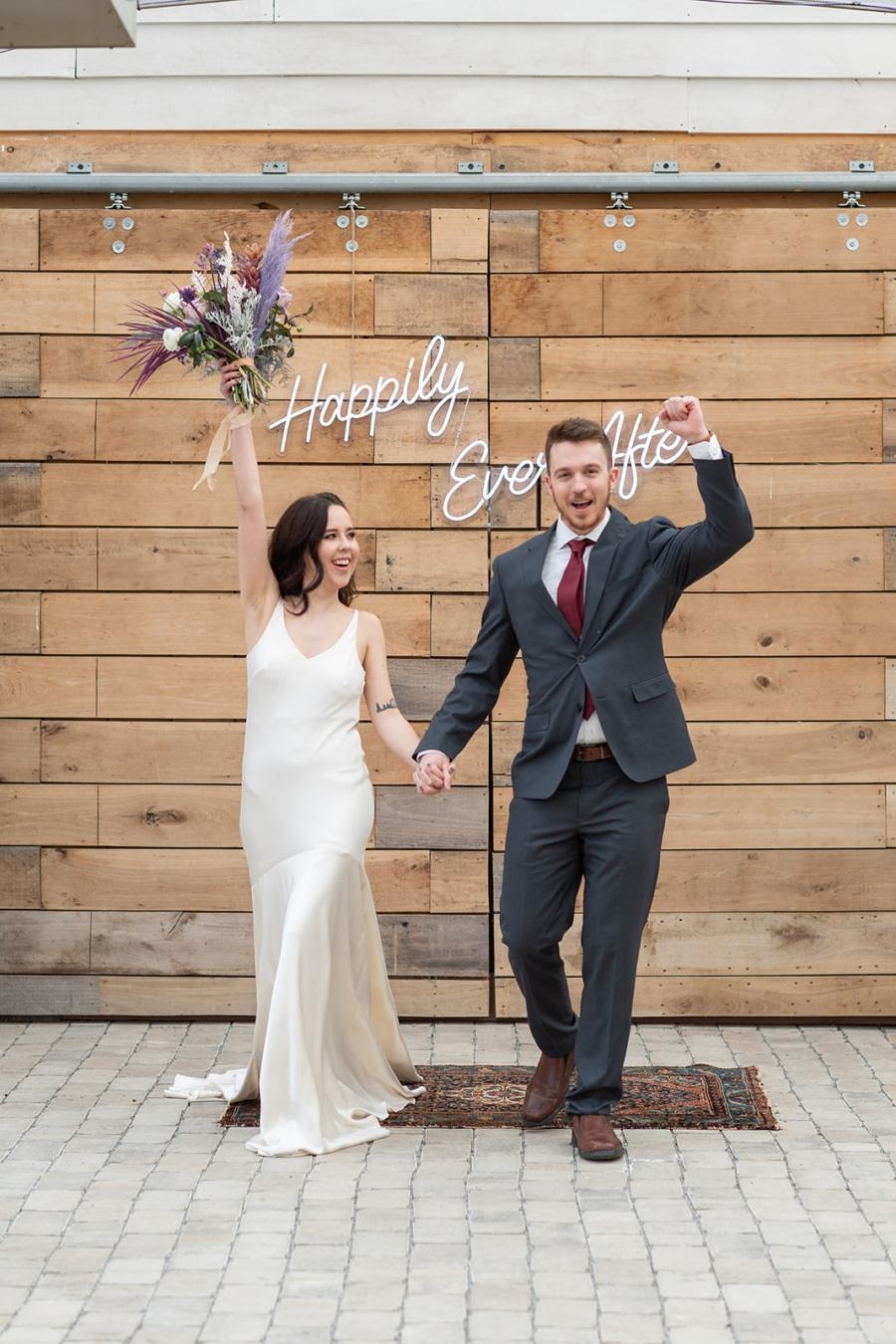 Long Hollow Gardens wedding ceremony inspiration