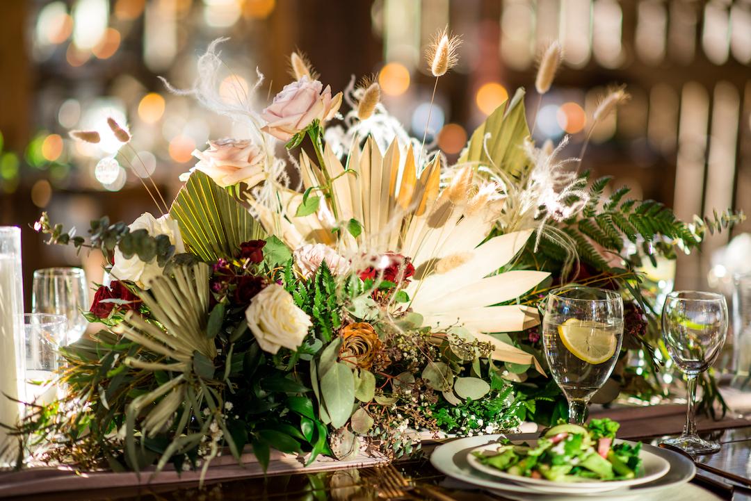 T. Villager Designs wedding flowers