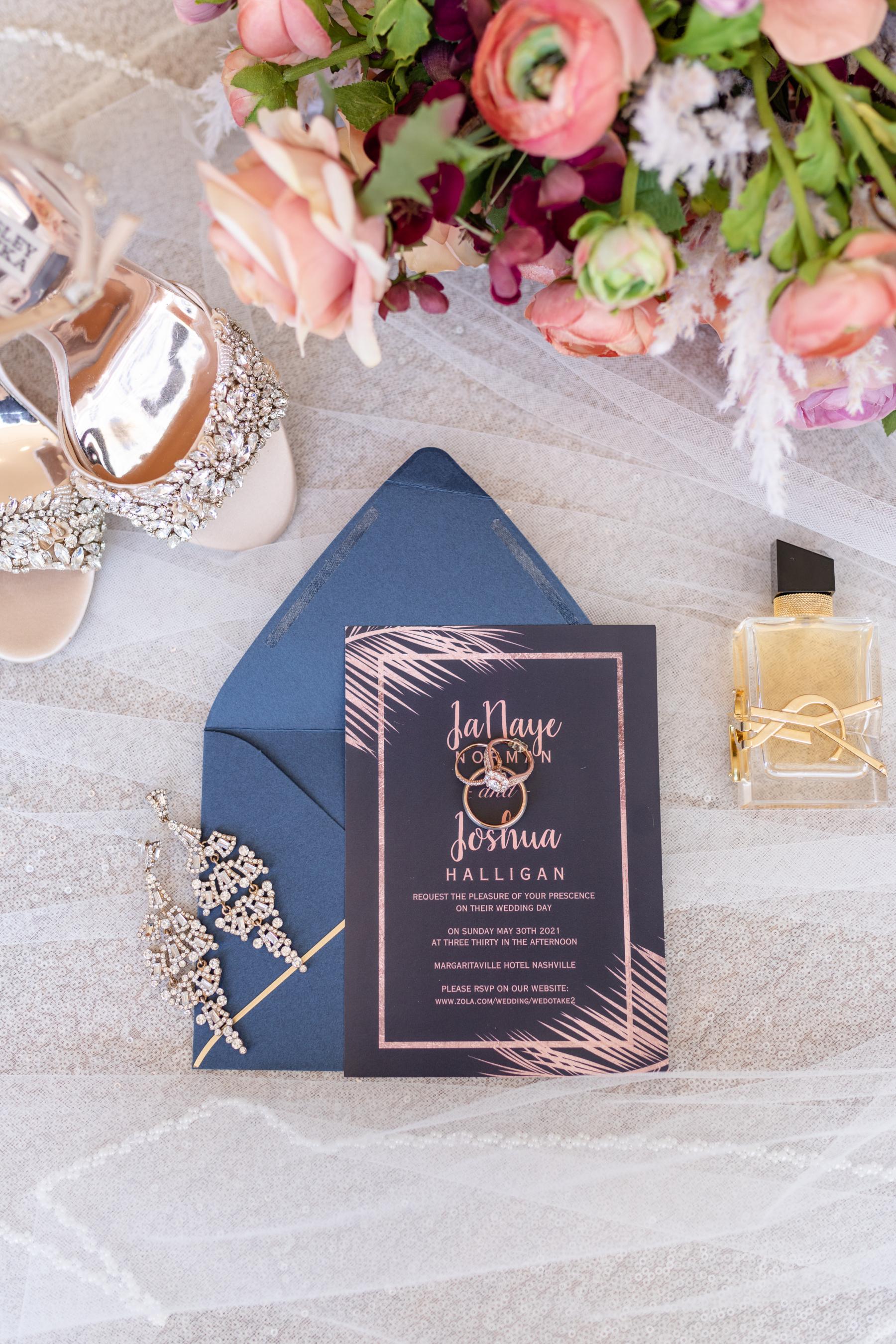 Margaritaville Hotel Nashville Wedding