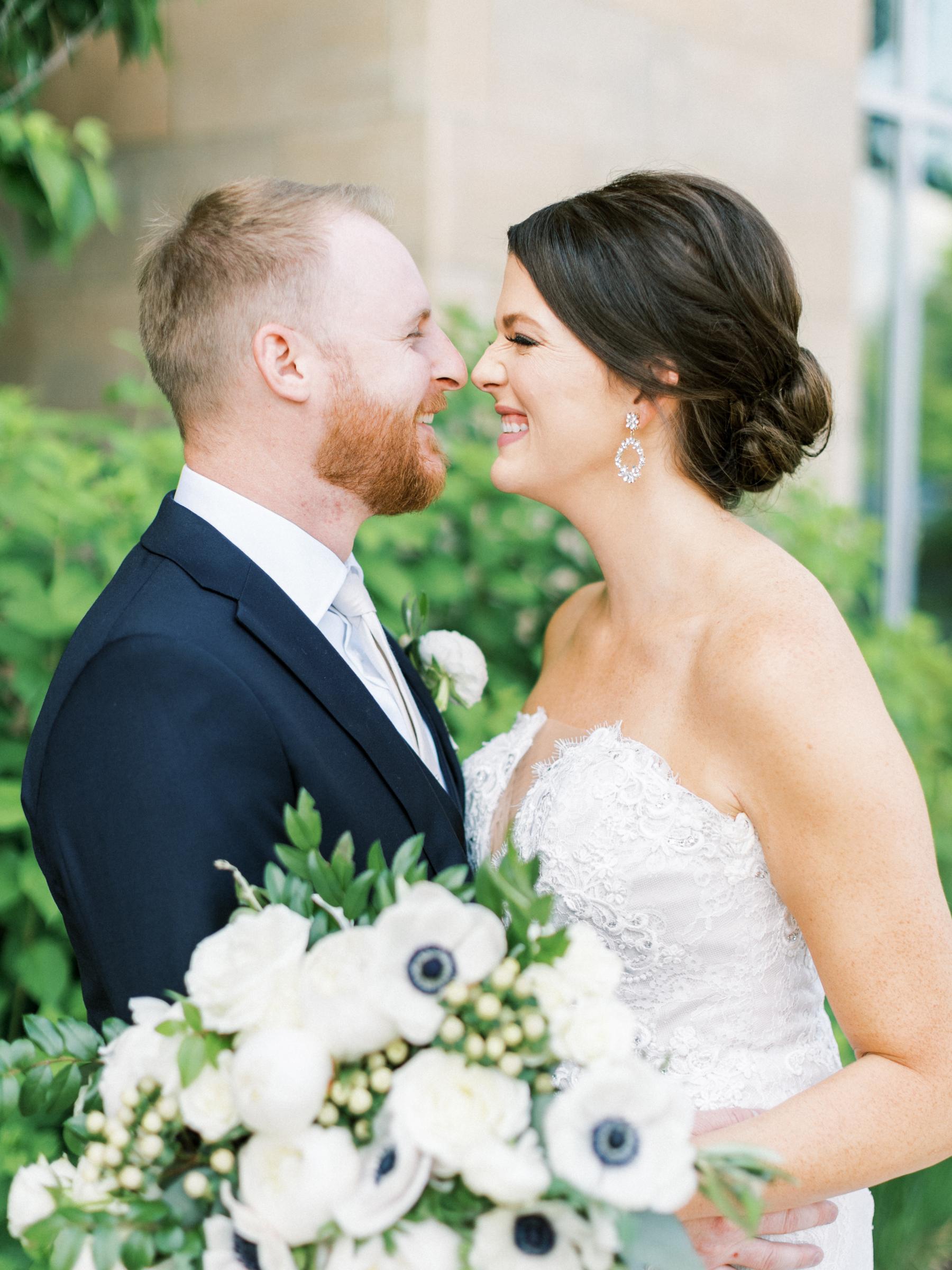 Romantic french blue wedding in Nashville