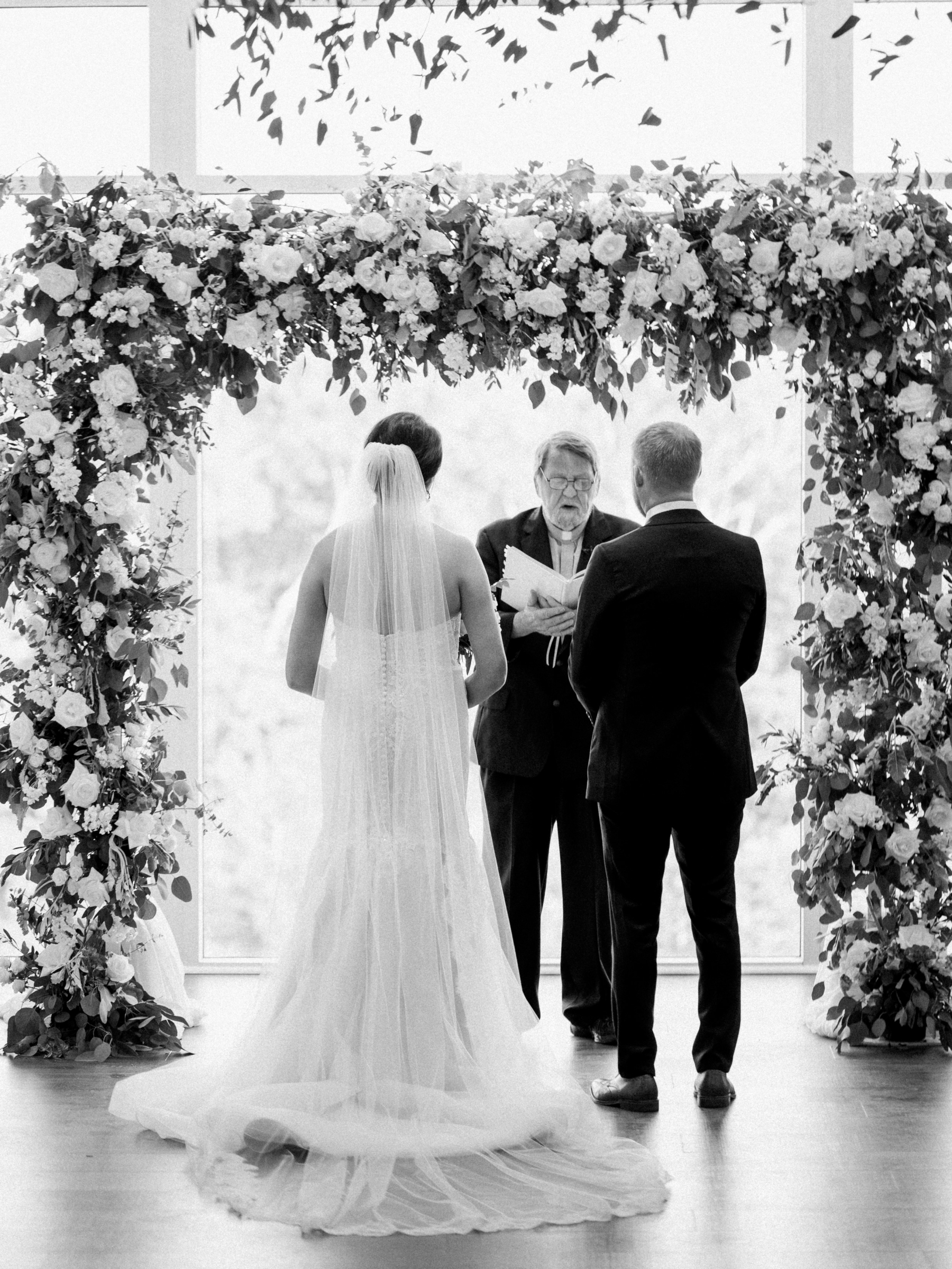 The View at Fountains wedding ceremony