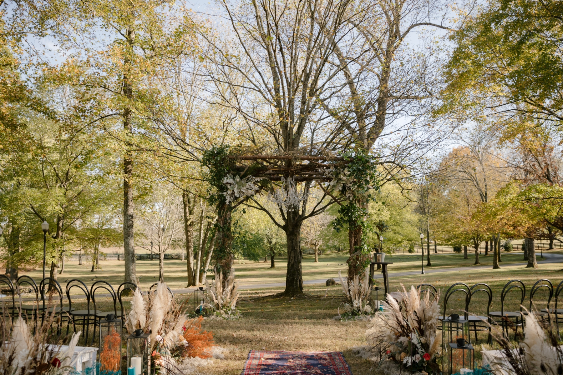Fall Harvest Inspired Wedding with Vintage Accents from Premier W.E.D.