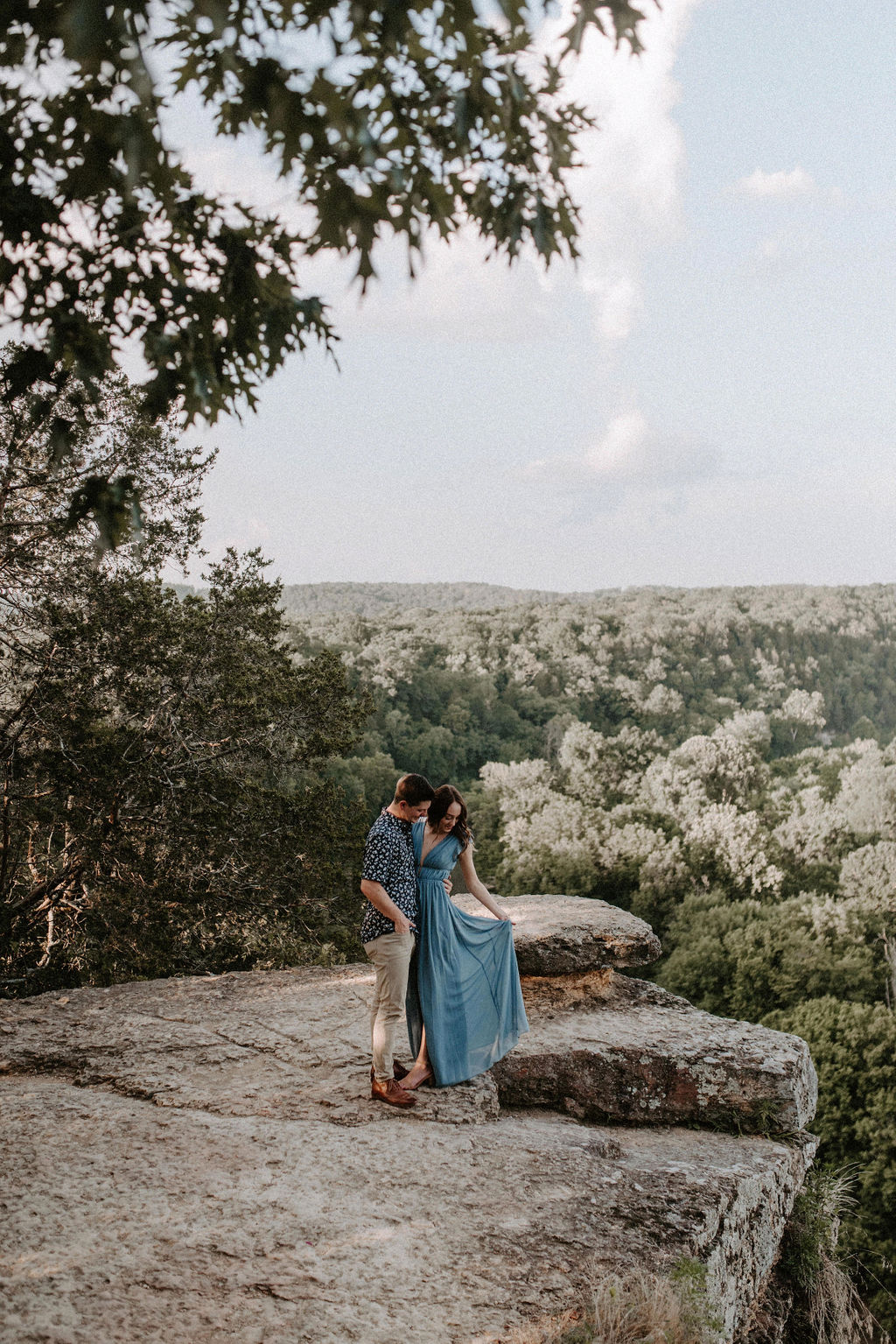 Narrows of Harpeth Engagement Session with Meghan Melia Photography