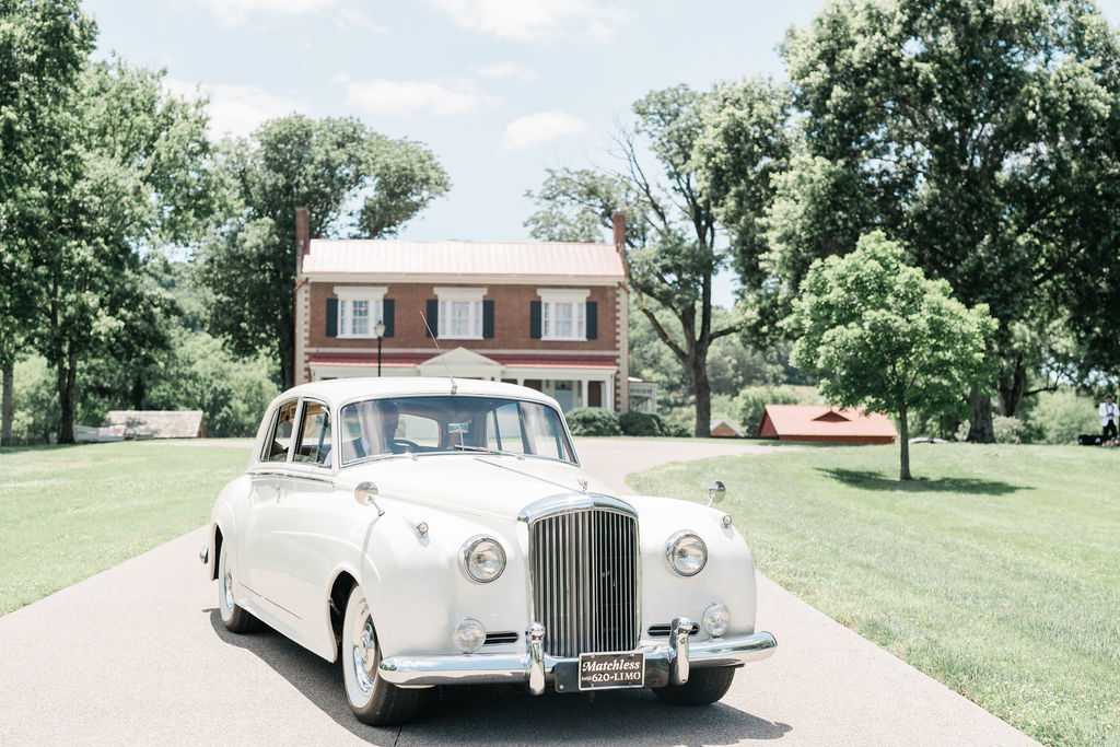 Matchless Transportation Nashville vintage wedding car