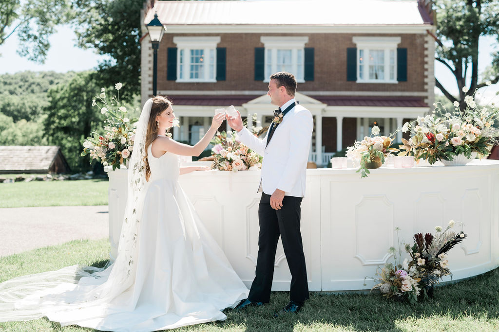 Chic Southern Charm Wedding Inspiration at Ravenswood Mansion