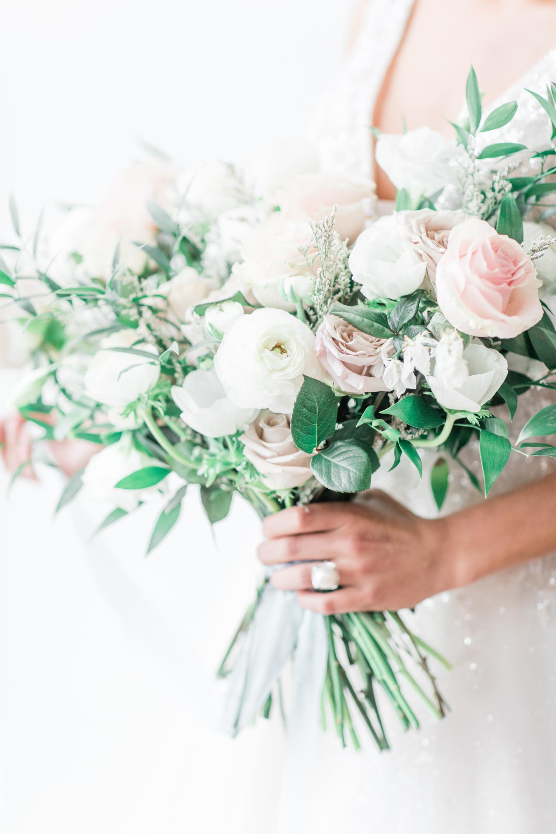 Stems by Laura wedding bouquet