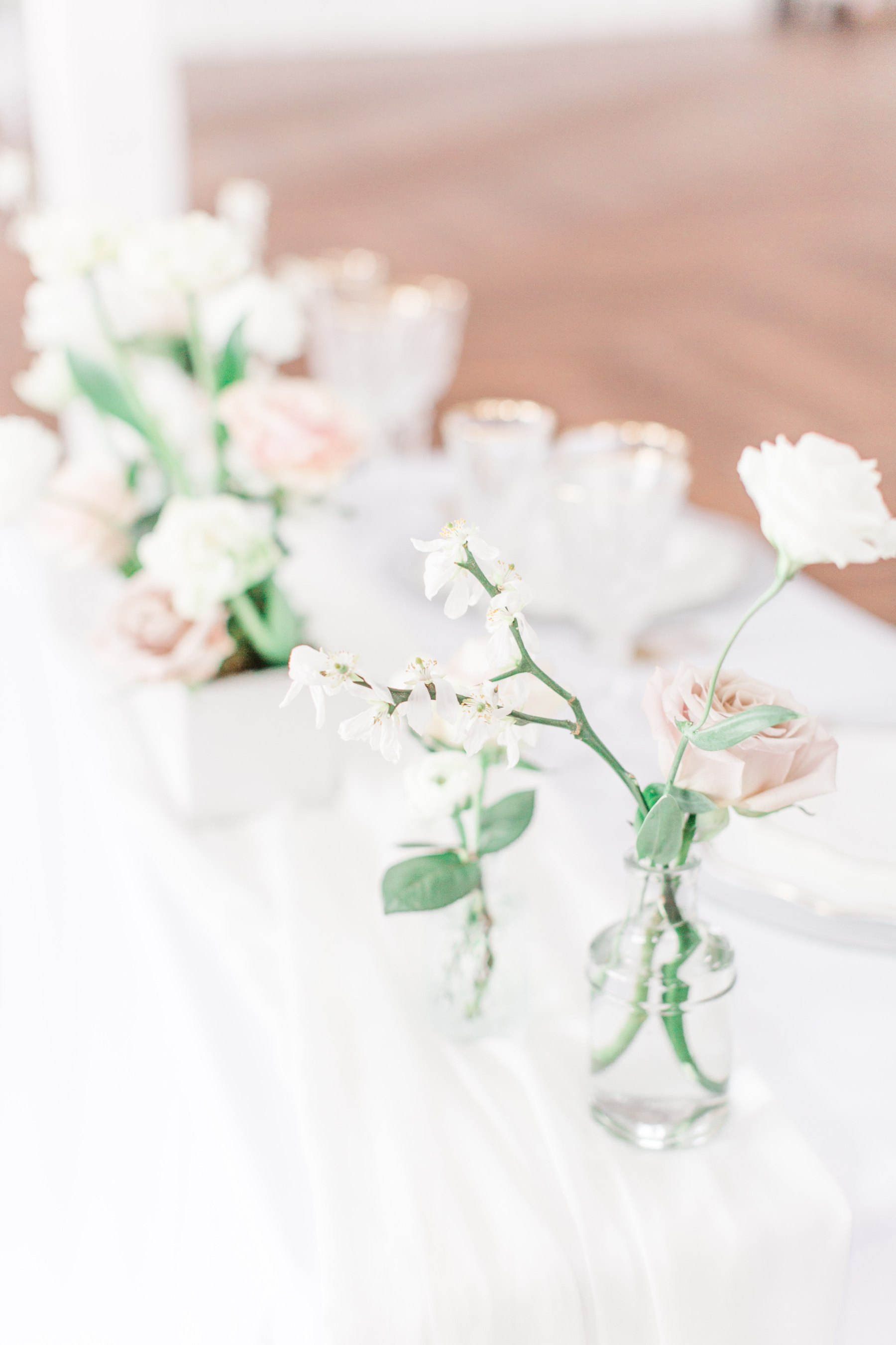 Stems by Laura Wedding Table Flowers