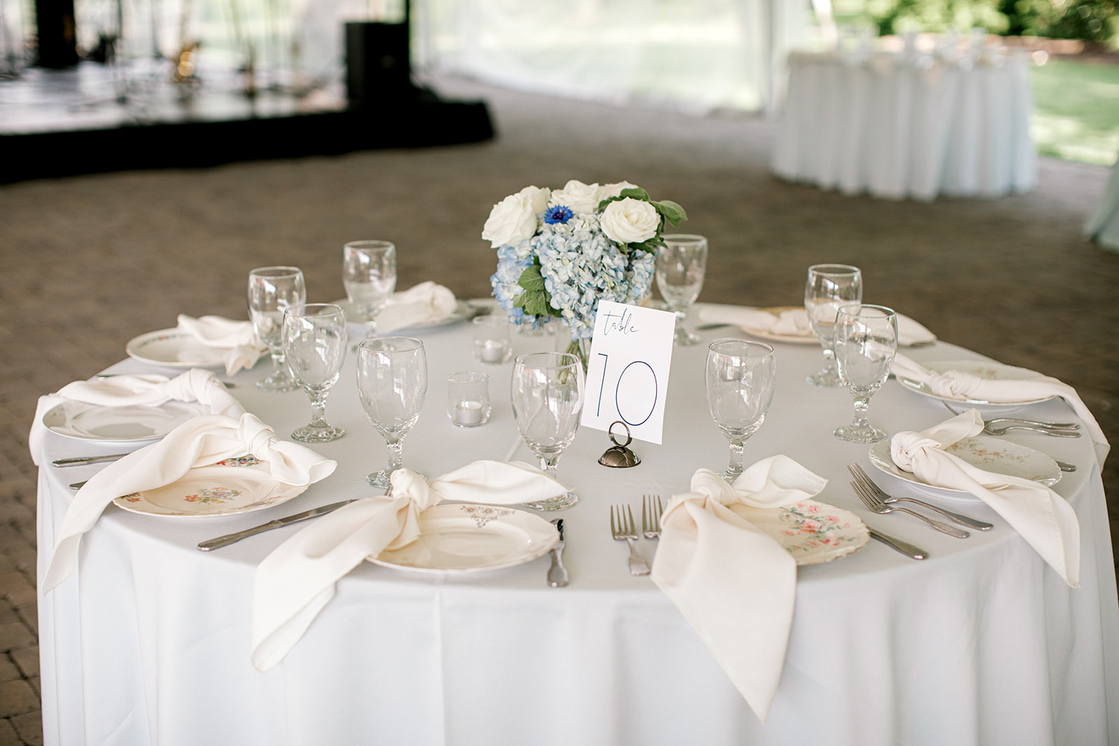 Shades of blue Ravenswood Mansion Wedding by Jayde J. Smith Events