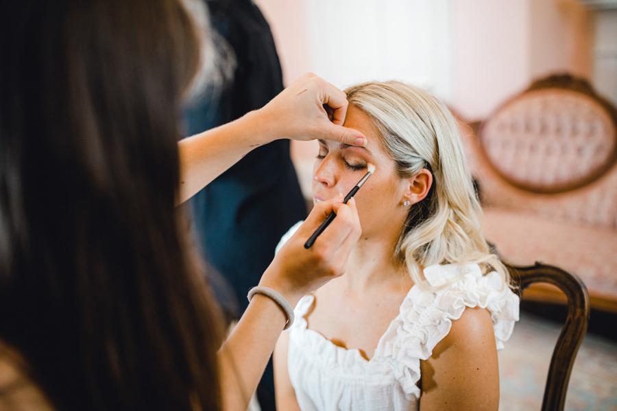 Nashville wedding makeup artist