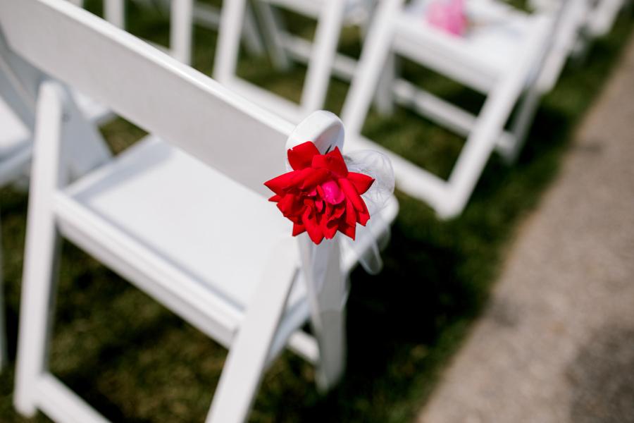 Outdoor wedding ceremony decor ideas