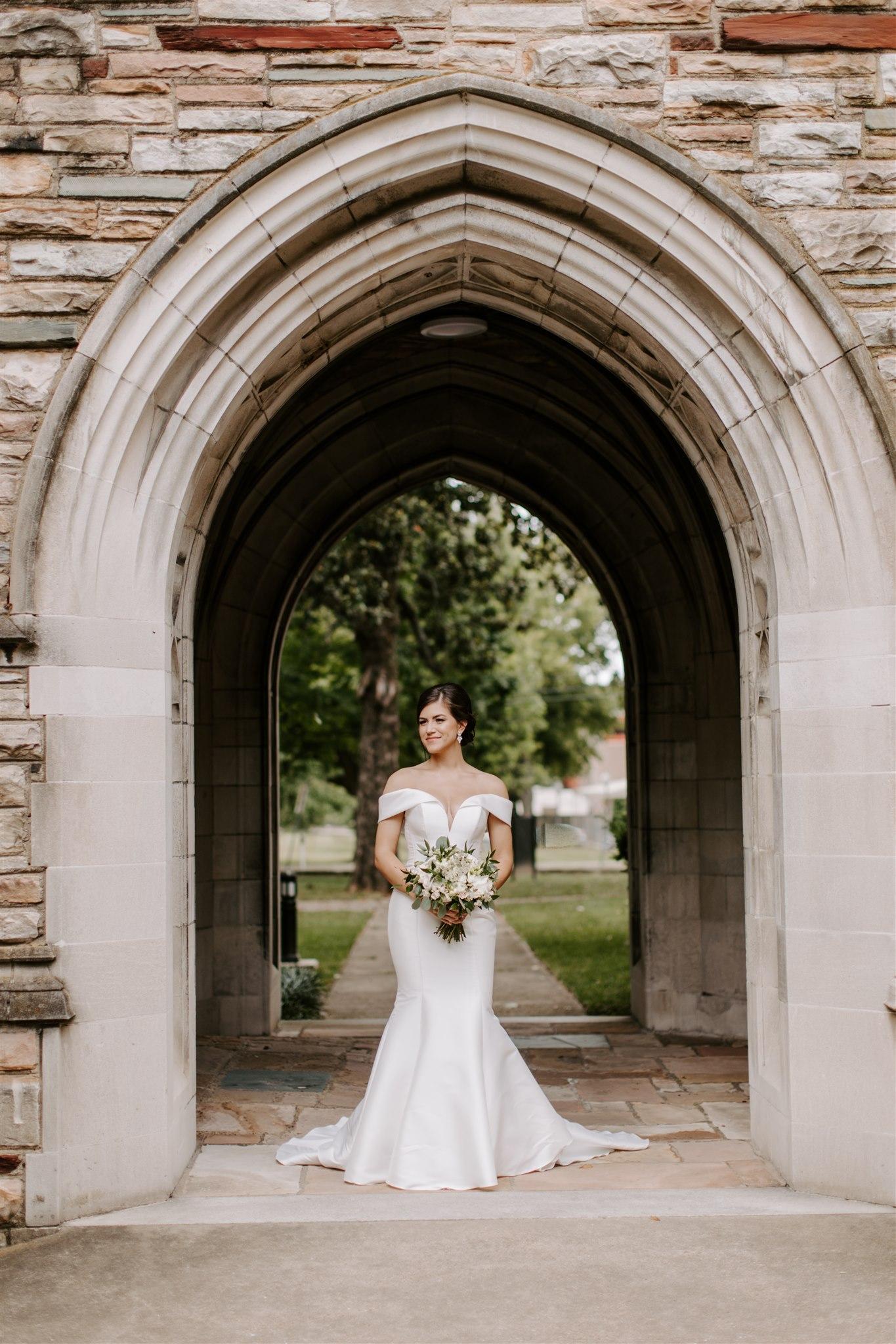 Bridal portrait by Caitlin Steva Photography