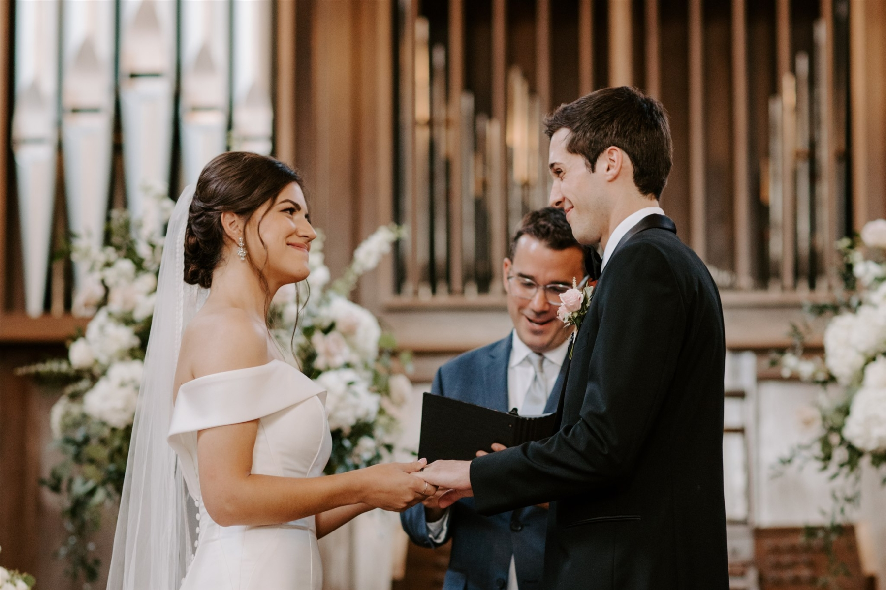 Scarritt Bennett Nashville wedding ceremony