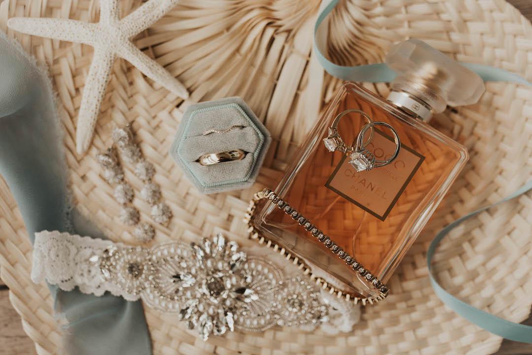 Bridal accessories for destination wedding