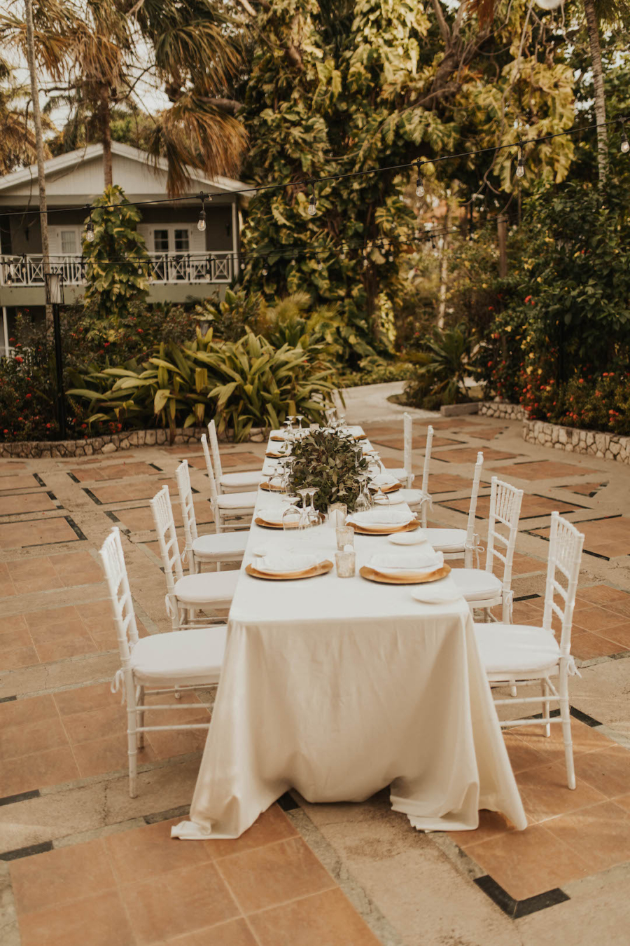 Sandals Ochi outdoor wedding reception