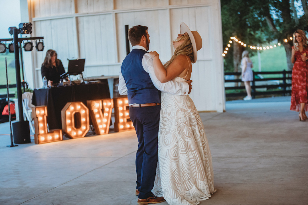 First dance at Beau Chavel wedding