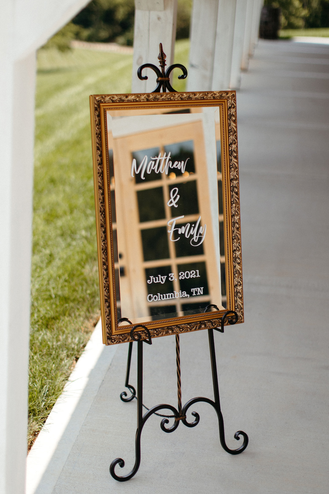 Wedding sign inspiration
