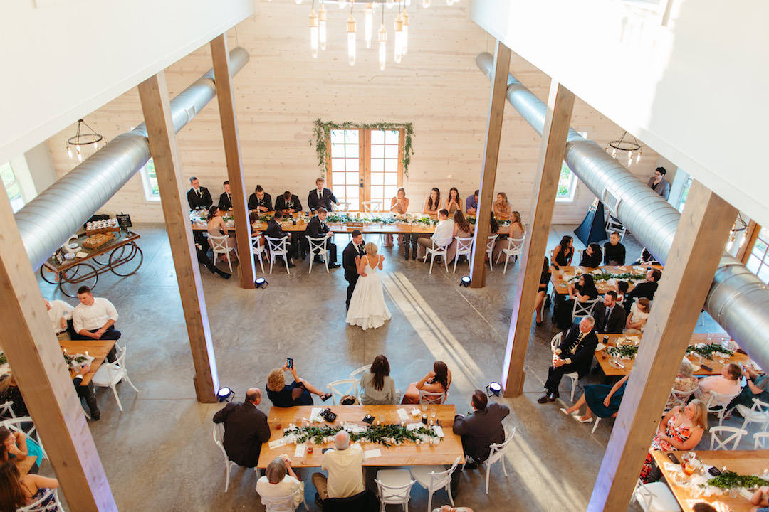 Columbia Tennessee wedding first dance